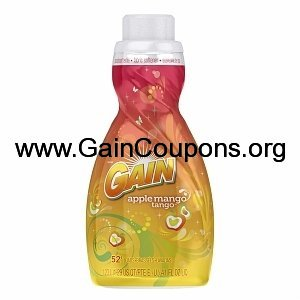 Fabric softener apple mango tango for he machines