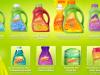 gain products he detergents and fabric softener