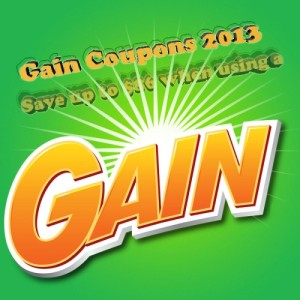 Gain coupons 2013