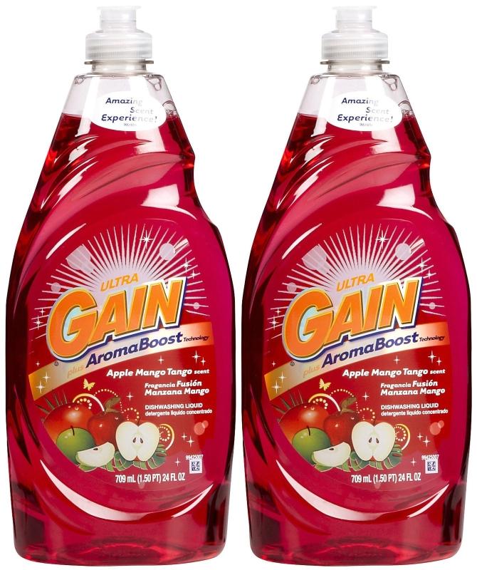 Dishwashing liquid coupons